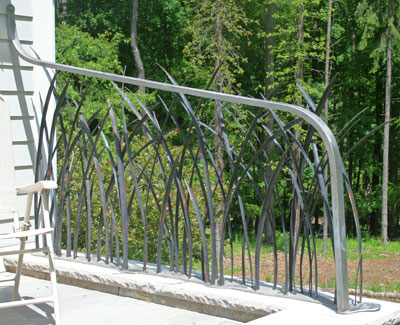 StainlessSteel Botanical Guardrail