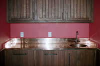 Copper Countertop & Backsplashes